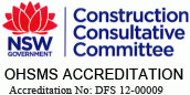 NSW Government Construction Consultative Committee - OHSMS Accreditation